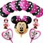 DISNEY-MICKEY-MINNIE-MOUSE-COMPLEANNO-PALLONCINI-BABY-SHOWER-SESSO-rivelare-Rosa-Blu miniatura 11