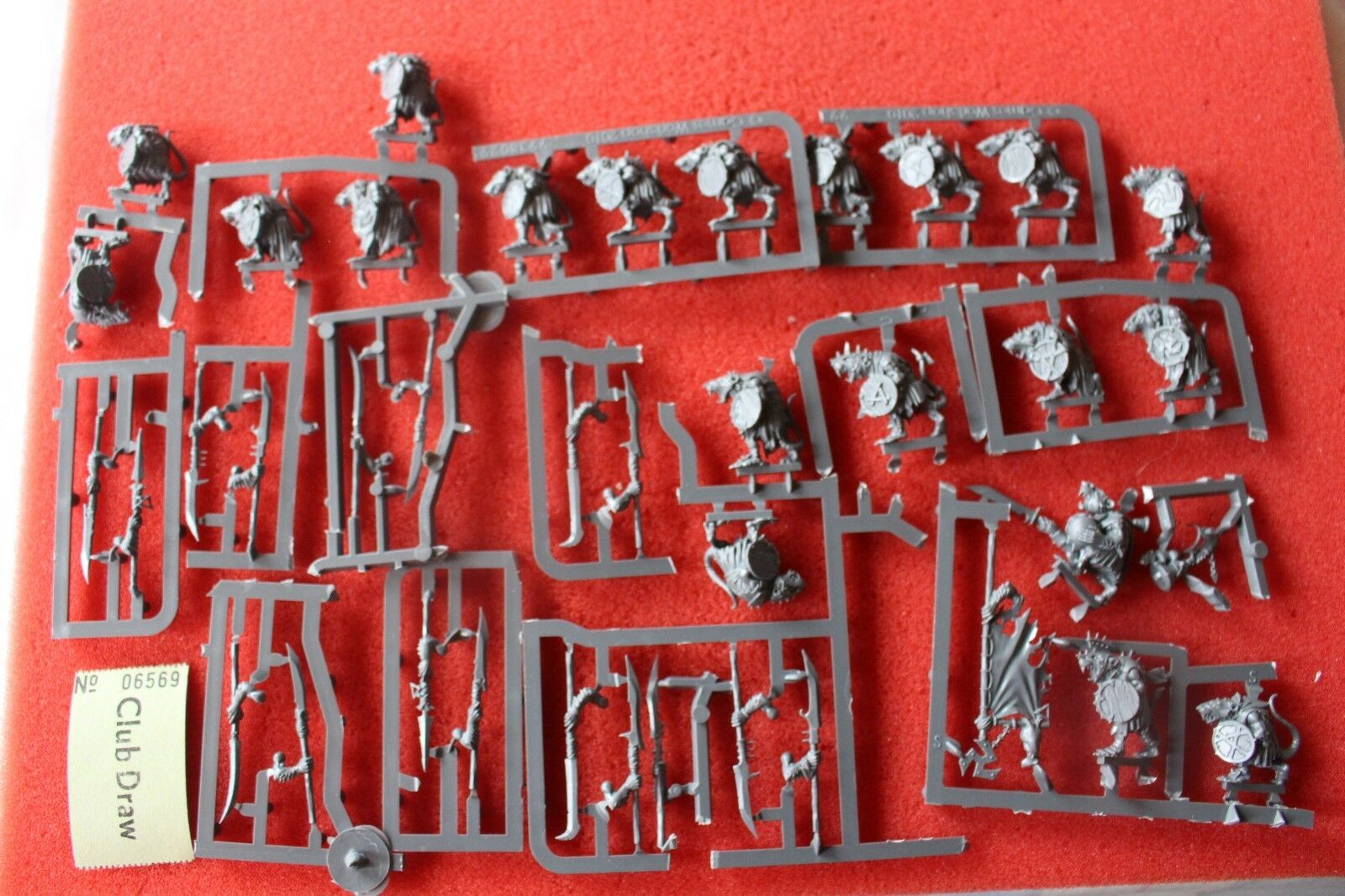 Games Workshop Warhammer Skaven Clan Rats Clanrats 20 Models Regiment New GW B2