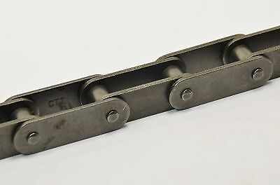 "C2040 1/"" Double Pitch Conveyor Chain 10 Ft Box With Connecting Link"