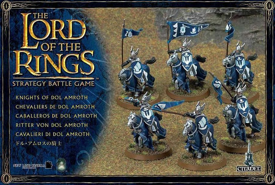 Lord of the Rings Knight of Dol Amredh Games Workshop Middle Earth Knights