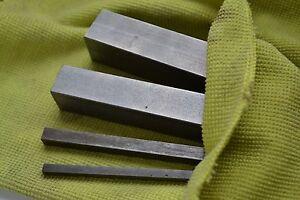 KEY STEEL KEYWAY SQUARE BAR 150MM 4MM 4X4 X1 BS4235