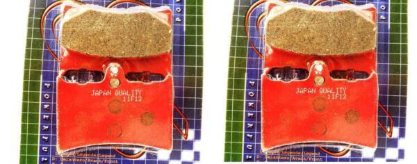 4 Pastiglie Freno Anteriore E Posteriore Per Ktm Exc 600 (87) - Lc4 600 (88 -) Uitgebreide Selectie;