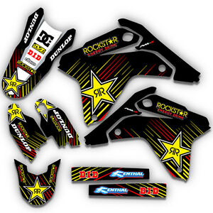 1995 1996 cr 250 graphics kit honda cr250r deco decals motocross decals ebay