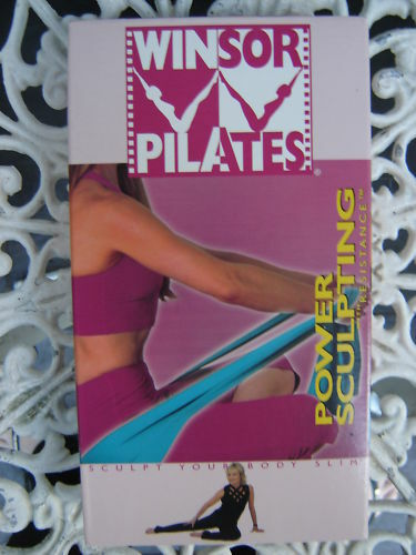WINSOR PILATES POWER SCULPTING AS NEW VHS VIDEO FREE POST