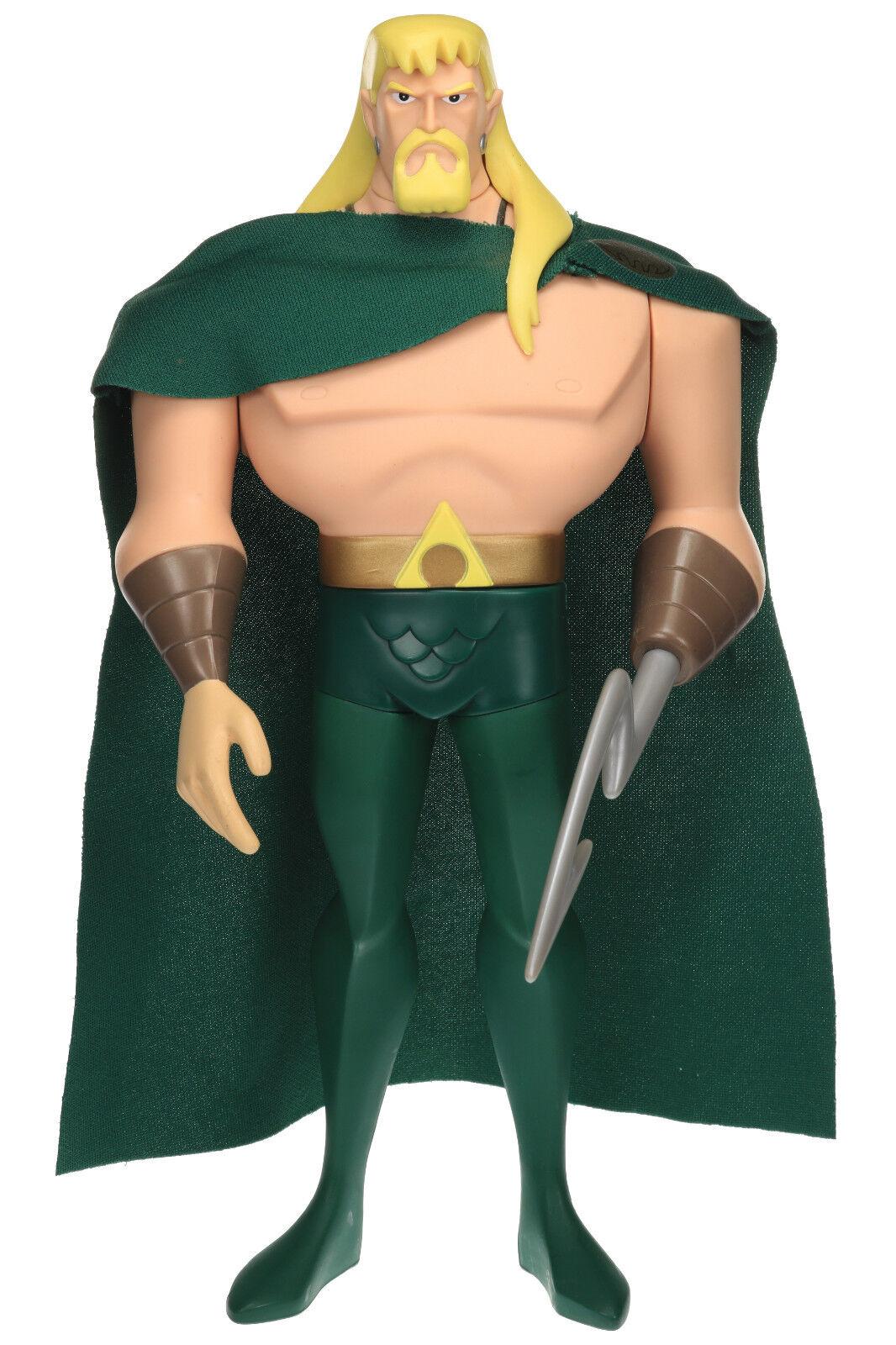Justice League Unlimited AQUAMAN w  Cape 10  Action Figure DC SuperHeroes Mattel