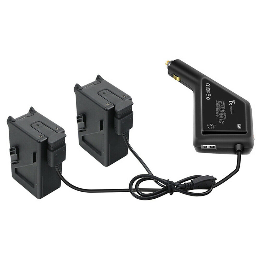 1*Dual Battery Car Charger Kit For DJI FPV for DJI FPV Drone Accessories
