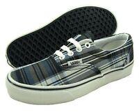 Vans Vulcanized Era Authentic Plaid Navy Kingdom Canvas Shoes In Box Mens 4