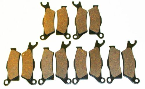 6 Sets 2013 Can-Am Outlander 1000 XT-P and 1000 XMR Front and Rear Brake Pads