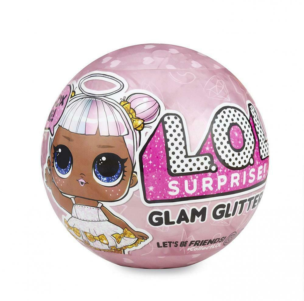 LOL Surprise Wrap Ball Doll Pearl Bling Glitter Glam L.O.L Sister Pets Confetti