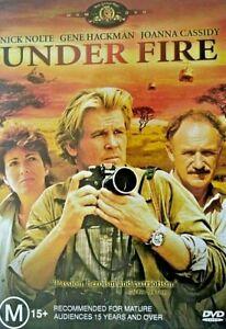 Under-Fire-New-Old-Aus-Stock-NEW-DVD-Rare-OOP-Nick-Nolte-Gene-Hackman