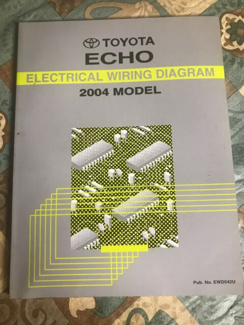Toyota Echo Electrical Wiring Diagram 2004 Model Dealership Repair Manual Oem