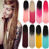 Premium Crochet Braids Hair Synthetic Braiding Sew In Hair Extensions As Human