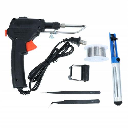 60W Auto Electric Soldering Iron Gun With FLUX 2/% Solder Wire Tin wire 50g FD