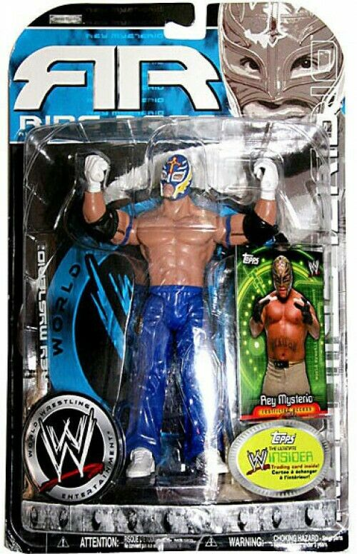 Ruthless Aggression Series 20.5 Ring Rage Rey Mysterio Action Figure