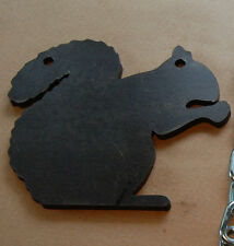 """9"""" x 8"""" SQUIRREL 3/8"""" AR500 GONG - Shoot Metal Target Stand"""