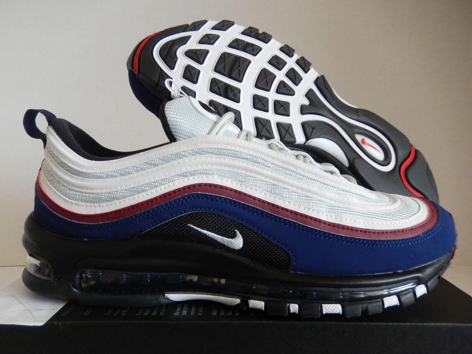 Nike Air Max 97 ID blancooo azul Team Rojo Talla 10.5