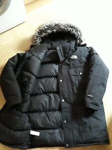 FILL HYVENT GOOSE FACE THE £380 RRP PARKA BLACK MCMURDO DOWN NORTH wf00TU8