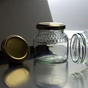 honiggl ser 195ml f r 250g honig mit twist off deckel. Black Bedroom Furniture Sets. Home Design Ideas