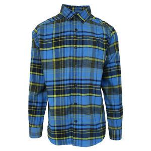 Columbia-Men-039-s-Fountain-Blue-Cornell-Woods-L-S-Flannel-Retail-60