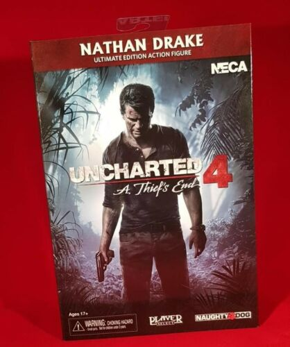 "7"" Scale Action Figure Ultimate Nathan Drake Neca Uncharted 4"