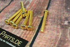 Linsenkopfschraube mit TX M5x10 GOLD vergoldet M5 Schraube Sechsrund Sternförmig