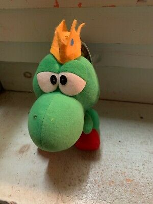 Rare Banpresto 1993 Super Mario All Stars King Yoshi Plush New