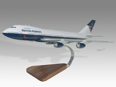 Boeing 747-200 British Airways Desktop Airplane Model