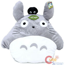 """My Neighbor Totoro Plush Cushion Pillow with Dust Bunny Soot Sprite -20"""""""