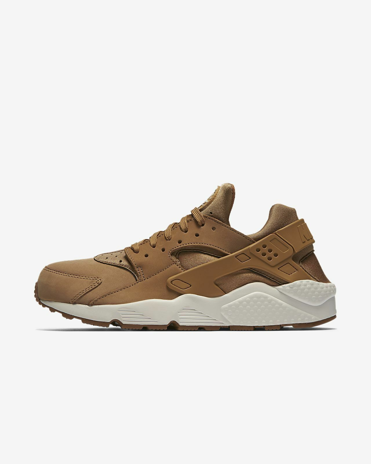 New  Uomo Nike Air Huarache Flax Tan 318429 Trainers UK 8.5 BNIB 318429 Tan 202 Sneakers Gum 74057a