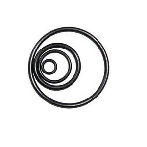 5mm Cross Section Black Nitrile Rubber NBR O-Ring Seal Gasket Oil Sealing Washer