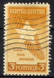 USA. 1948. 3 Cents. Gold Star Mothers (Used)
