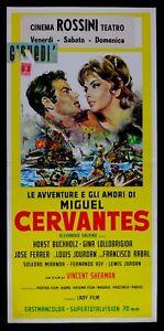 L79-Plakat-die-Abenteuer-E-Gli-Liebes-Herz-Von-Miguel-Cervantes-G-Lollobrigida