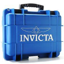 Invicta Men's Eghit 8 Slot  Blue  Dive,Diver Box Case Watch,New