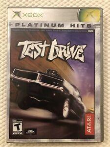Test-Drive-Microsoft-Xbox-Complete-w-Case-amp-Manual