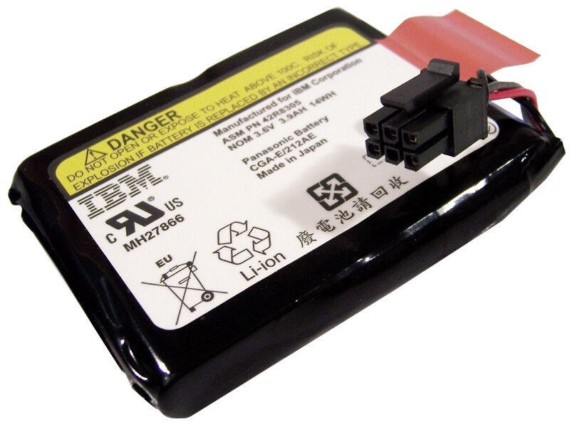 IBM Pan CGA-E-212AE 3.6v 3.9Ah 14Wh Battery 42R8305 Panasonic Cache for 42R4460