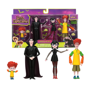 Hotel-Transylvania-3-Drac-039-s-Pack-4PCS-Action-Figure-Exclusive-Collectibles-Gifts