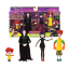 Hotel-Transylvania-3-Drac-039-s-Pack-4PCS-Action-Figure-Exclusive-Collectibles-Gifts thumbnail 1