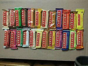 16 Bars - 9 Flavors LARABAR Original Fruit Nut Food Bar BB 01/21-10/21 FREE S&H