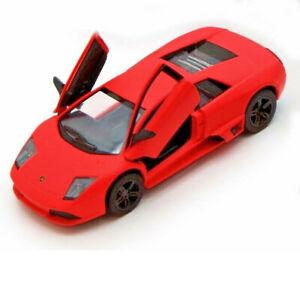 5-034-Lamborghini-Murcielago-LP640-1-36-Scale-model-car-Matt-Orange-Kinsmart