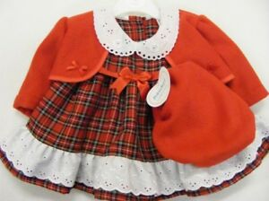 e5fd1287a Girls Kinder Boutique designer tartan dress