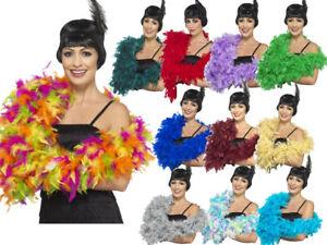 Pluma-Boa-Flapper-Burlesque-Accesorio-De-Lujo-180cm-80G-Larga-Vestido-de-fantasia