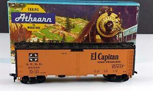 Athearn-5019-Santa-Fe-40-039-ATSF-El-Capitan-Steel-Reefer-Car-SFRD-36582-HO-Scale