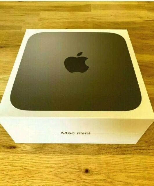 Apple MAC MINI 2018 Intel Core i3, 8GB RAM 128GB SSD Desktop-Grigio Spazio-Nuovo con Scatola!