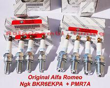 8 CANDELE ORIGINALI ALFA ROMEO 145 146 147 156 166 GT GTV SPIDER T. SPARK BENZIN