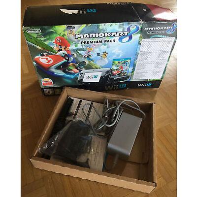 Nintendo Wii U 32GB inkl. 8 Spielen (Zelda,Super Mario,Mario Kart,Splatoon etc.)