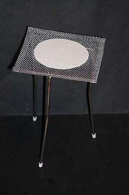 Bunsen Burner Tripod Stand Stainless Steel and Wire Gauze Free UK Postage New