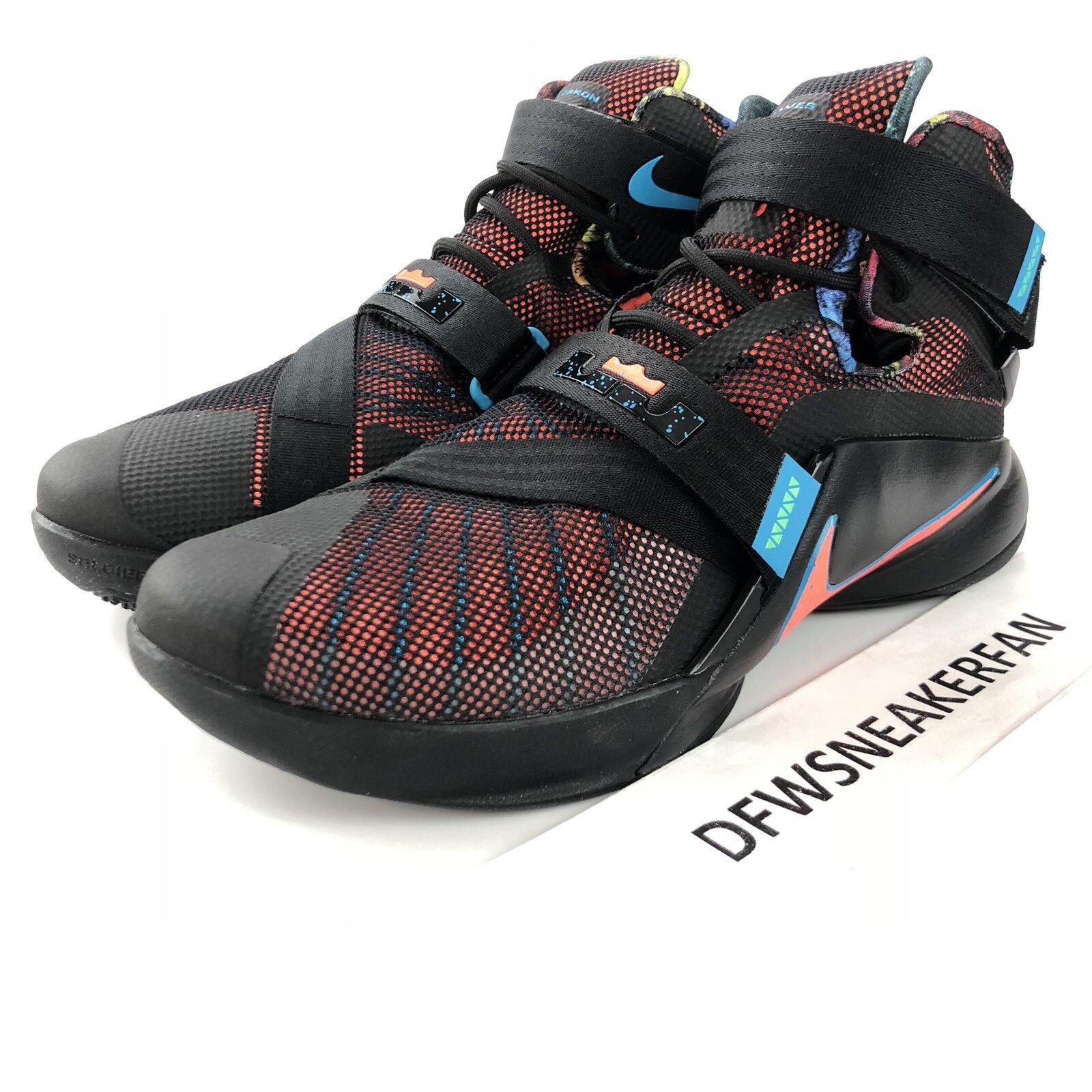 Nike Luft Lebron James Soldaten Ix Herren Größe 10.5 Ds 749417-084