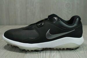 62 Nike Vapor Pro BOA Golf Shoes Men's 8 AQ1790-001 Black Waterproof Hybrid