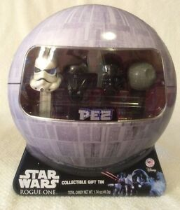 Star-Wars-Rogue-One-PEZ-Gift-Set-in-Collectible-Death-Star-Tin-DARTH-Vader