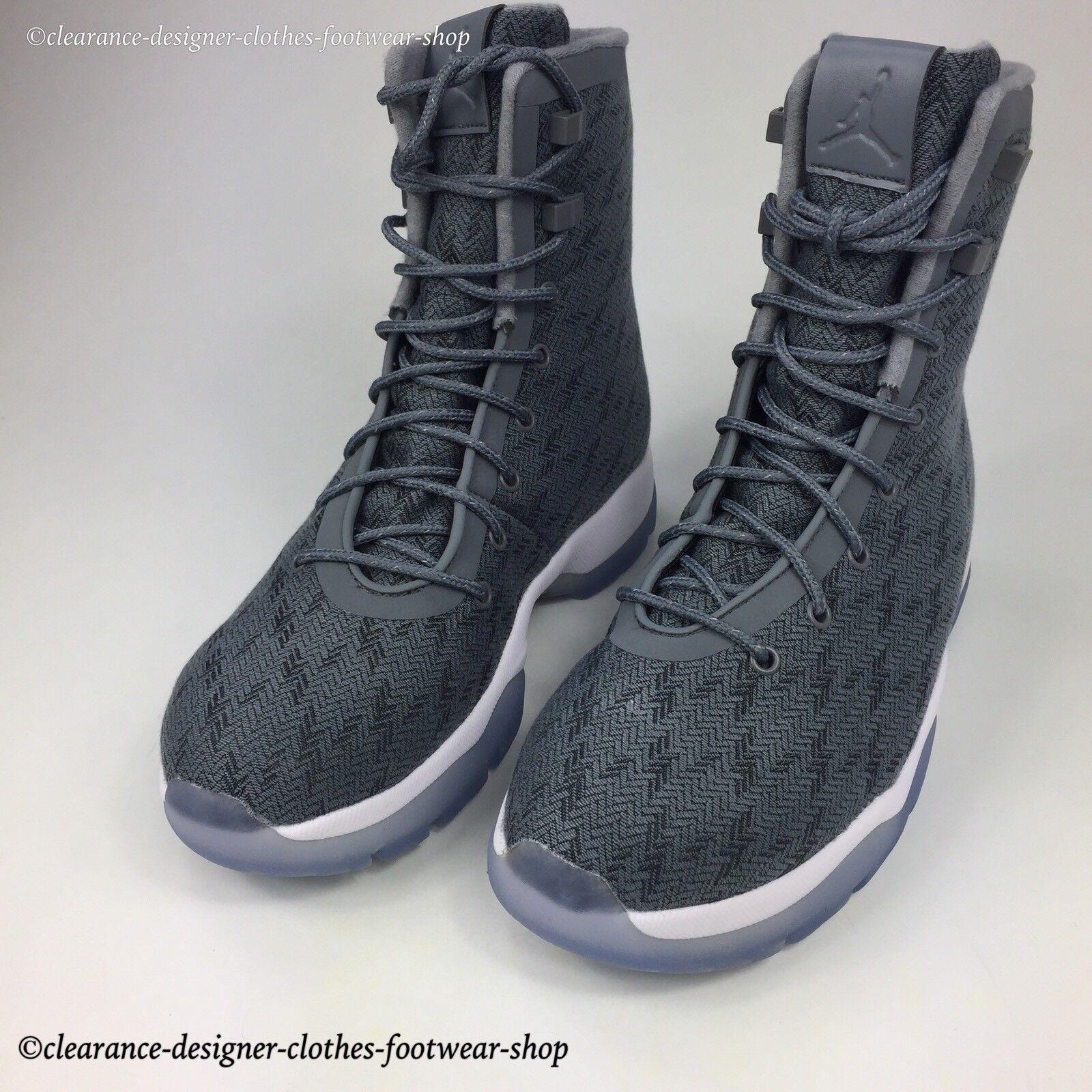 NIKE JORDAN FUTURE RETRO BOOT WATERPROOF COOL gris RETRO FUTURE TRAINERS Chaussures b17670